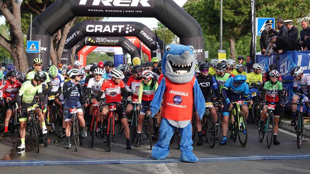 Start-Granfondo degli squali